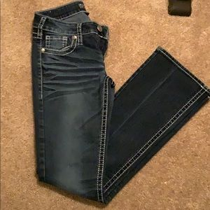 Silver brand bootcut jeans!